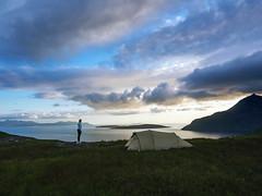Isle of Skye (~janne) Tags: schottland natascha omd em1 sonnenuntergang abend wolken zelt skye
