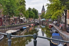 Amsterdam Canals (jpellgen (@1179_jp)) Tags: canal canals water ams amsterdam holland netherlands travel nikon 2018 august sigma 1770mm d7200 europe european architecture amsterdamcanals