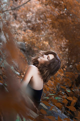 Sensibilidad. (Anni Pérez) Tags: spirit jungle leaves awesome derful portrait photography model pretty charm temperature warm