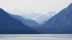 Leaving Glacier Bay (Anthony Mark Images) Tags: layers mountains snowcapped forests trees water sea ocean snow rugged wilderness glacierbay alaska usa 49thstate beautiful majestic lovely gorgeous nikon d850 beautifulview