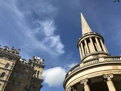 (Steve Bowbrick) Tags: allsouls langhamplace london church spire commute cycling