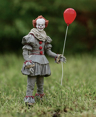 Would you like a balloon? (SimonJSweetman) Tags: pennywise balloon red clown it horror