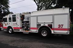 Union Fire Company Engine 375 (Triborough) Tags: pa pennsylvania buckscounty croydon ufc unionfirecompany firetruck fireengine engine engine375 pierce saber