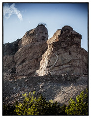 Crazy Horse Memorial (divicoa) Tags: landscape monument statiuniti sky cloud