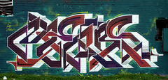 graffiti in Amsterdam (wojofoto) Tags: amsterdam nederland netherland holland graffiti streetart ndsm wojofoto wolfgangjosten mens