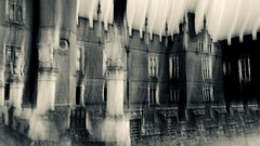 Henry's place II (Zara.B) Tags: intentionalcameramovement iphone icm impressions abstract blur henryviii history silvertone moody atmospheric