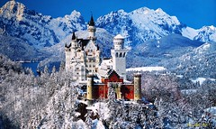 Castle Neuschwanstein (alph@ wolf) Tags: castle bavaria germany landscape sightseeing travel snow winter photography pentax photo pentaxart pentaxk1