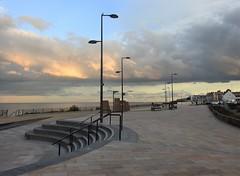 Whitley Bay - Refurbished Promenade (Gilli8888) Tags: nikon p900 coolpix whitleybay tyneandwear spanishcity coast northtyneside clouds sky promenade steps lamps lampposts streetlights coastal eastcoast seaside
