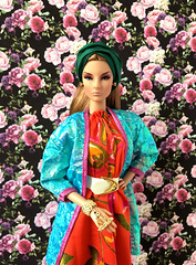 A-Z Challenge 2.0: T - Turban (doll_enthusiast) Tags: nuface giselle diefendorf majesty integrity toys it fashion doll dolls collecting photography
