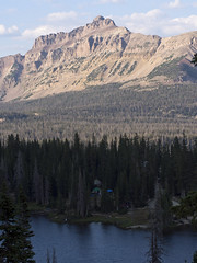 Mirror Lake, Hayden Peak Overlook, Uinta Mountains, Utah (Ranger Robb) Tags: lake