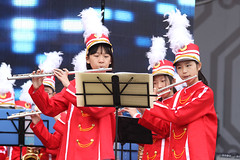 IMGL4030 (taticoma) Tags: brassband brass music musician child china red school teenage girl girls flute flutist