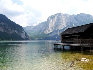 Trisselwand am Altausseer See / Trisselwand wall at Lake Altaussee