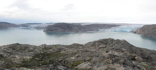 Fjord and fjord in Greenland