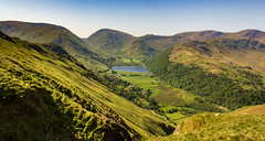 Can I get much higher? (Ian Emerson (Thanks for all the comments and faves) Tags: lakedistrict lake water mountains hiking canon coast2coast landscape summer sunny outdoor scenic scenery