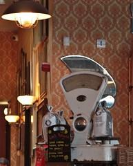 Impero Lounge Portishead July 2017 4 (Bristol Viewfinder) Tags: imperolounge portishead somerset southwest food artdeco mirrors scales lighting lunch coffee highst restaurant