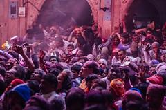 Packed Holi Crowd in Shri Banke Bihari Mandir, Vrindavan India (AdamCohn) Tags: abeer adamcohn bankebiharimandir hindu india shribankeybiharimandir vrindavan gulal holi pilgrim pilgrimage अबीर गुलाल होली