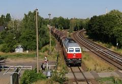Berlin-Biesdorf (treineninhetnoorden) Tags: biesdorf berlin 232 5124 knicker berlijn ddr ostbahn ludmilla polen ostalgie db cargo