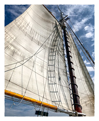 Sails Hoisted (Timothy Valentine) Tags: 2018 0818 schooner appledore a boat vacation sail datesyearss aloft maine unitedstates us
