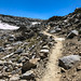 Approaching the crest of Bishop Pass
