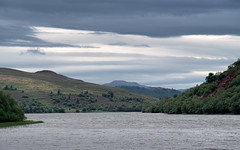 Loch Ruthven (ShinyPhotoScotland) Tags: art photography equipment camera lens places scotland rawconversion manipulated composite hdr enfuse digikam toned colour rawtherapee serifaffinityphoto highlands fuji fujixt20 fuji18135mm croachy lochruthven loch water ruthven landscape nature gentle subtle pastel shades calm cool relaxing beautiful low clouds moody simple