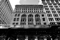 JJN_7754 (James J. Novotny) Tags: window windows facade subway train trains bridge bw d750 nikon city unlimitedphotos blackandwhite buildings citylife