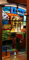 Stained glass screen (RDW Glass) Tags: johnpiper stainedglass glasgow scotland rdwglass bearsden