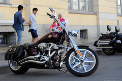 Best Option is Chosen (dmitrytsaritsyn) Tags: nikonafs70200mmf28gedvrii motorcyclephotography motorcycles stpetersburg russia outdoor nikon d3s harleydays harleydavidson motorbikes photography 70200mm