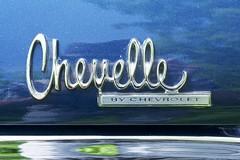 Chevy Chevelle by Chevrolet (designwallah) Tags: canada vintageautomobile beeton olympusm1240mmf28 ontario olympusomdem5markii chrome automobile car automobiledetail cardetail classicautomobile classiccar vintagecar automobilelogo carlogo chevychevelle chevrolet chevelle chevy typography typographie