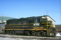 SBD GP40 6755 (Chuck Zeiler) Tags: sbd gp40 6755 railroad emd locomotive dolton train giballbach chz