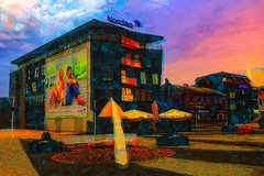 Early Summer Morning in Rakvere, Estonia (Kalev Vask.) Tags: digital kalevvask postprocessed photomanipulation digiart photoart painterly artistic creative estonia summer manipulated ownphoto phototopainting rakvere topazstudio 2018 mediachance dap photoshop sunrise