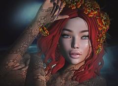 .. gracie .. (Pocahontas Kowalsky) Tags: flf glam affair coral skin lelutka applier rika oyen argrace inworld sale 100linden carolg