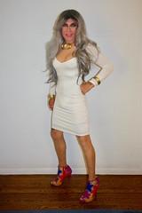 Cortney - Black and White - ready to go out..... (Cortney10100) Tags: anderson cortney black people thigh stilettos crossdresser crossdress transvestite transsexual trannie tranny femme highheels heels transgender tgurl tgirl tg tv red m2f mtf transvista cd feminized xdresser silver gray portrait violet nylons white