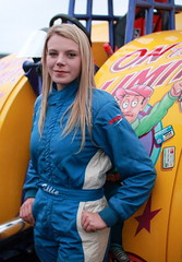 Ellie Pacey (Szmytke) Tags: scotland tractor pull driver ellie pacey engine power torque drag weight sleigh