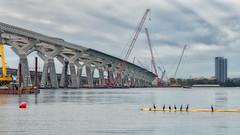 Spectateurs (Bmartel2k) Tags: chantier pont bridge construction river water eau fleuve