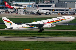 Tibet Airlines | Airbus A330-200 | B-1047 | Shanghai Hongqiao