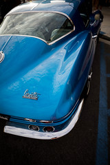 1965 Chevrolet Corvette Sing Ray (Photos By Clark) Tags: location california elcajon canon2470 canon5div northamerica cities unitedstates locale places where us restored corvette stingray blue lightroom thesandiegoist