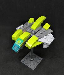 Privateer Class Light Interceptor (Vitor O S Faria) Tags: ship spaceship starship starfighter fighter lego vicviper viper mobileframezero