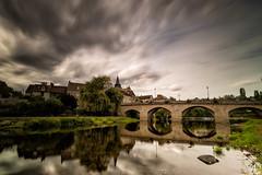 face au pont - the bridge (flo73400) Tags: pont paysage bridge landscape nuage cloud poselongue longexposure le