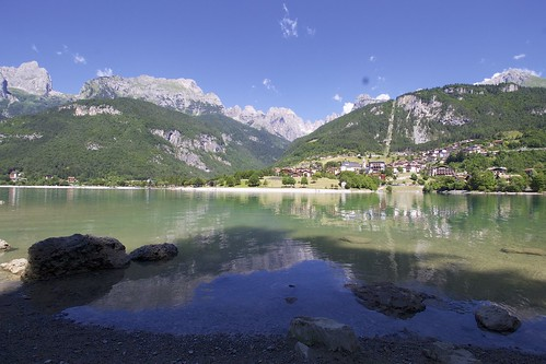 """Molveno Lake • <a style=""""font-size:0.8em;"""" href=""""http://www.flickr.com/photos/104879414@N07/44744832741/"""" target=""""_blank"""">View on Flickr</a>"""