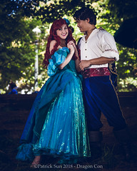 SP_83653 (Patcave) Tags: dragon con dragoncon 2018 dragoncon2018 cosplay cosplayer cosplayers costume costumers costumes little mermaid disney ariel animation movie redhead redhair prince eric