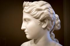 Regal (dayman1776) Tags: statue sculpture escultura skulptur sony a6000 marble goddess divine neoclassical classical art fine museum myth mythology