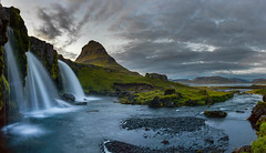 Kirkjufell (Sébastien Mamy) Tags: arctic europe exterieur iceland landscape nature north outdoor paysage sebastienmamy fall water