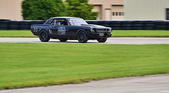 1965 Ford Mustang (Chad Horwedel) Tags: 1965fordmustang fordmustang ford mustang classic car racetrack autobahncountryclub joliet illinois