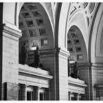 Union Station in Black and White thumbnail