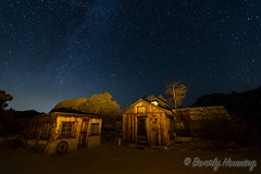 051-Keys_Ranch_Night-015 (Beverly Houwing) Tags: keysranch billkeys earlysettlers desert mining barn schoolhouse cabin ranching joshuatreenationalpark desertqueenranch outpost equipment home shed cars cemetery oreprocessing california yuccavalley 29palms night sky stars lightpainting yellow orange