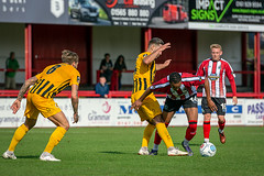 Altrincham FC vs Boston United - August 2018-147 (MichaelRipleyPhotography) Tags: altrincham altrinchamfc altrinchamfootballclub alty ball bostonunited community fans football footy goal header jdavidsonstadium kick mosslane nationalleaguenorth nonleague pass pitch preseason referee robins salfordcity save score semiprofessional shot soccer stadium supporters tackle team vanarama
