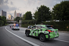 DSC_9772 (RidePelotonia) Tags: lead car coshea2gmailcom colleenoshea columbusohio start 100180milestart mcferson columbusstartingline columbus police ohio state highway patrol