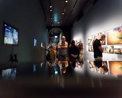 Week 34:  Photobombing! (MoniqueDK) Tags: 52weeksof2018 museum worldpressphoto2018 photobomb reflection reflectie