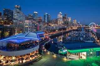 Blue hour in Seattle