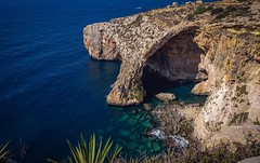 Room with a view... Blue Grotto, Wied iz-Zurrieq (Ula P) Tags: blue bluegrotto malta sony cave